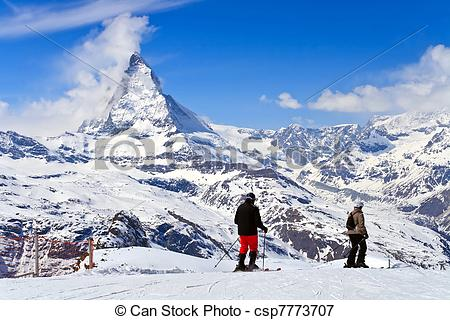Picture of Sjier at Matterhorn Switzerland.
