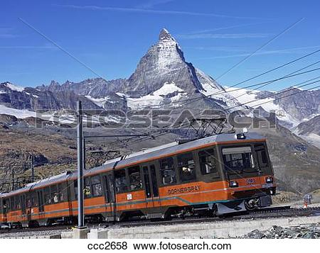 Pictures of Switzerland, Valais, Zermatt, Gornergrat,the.