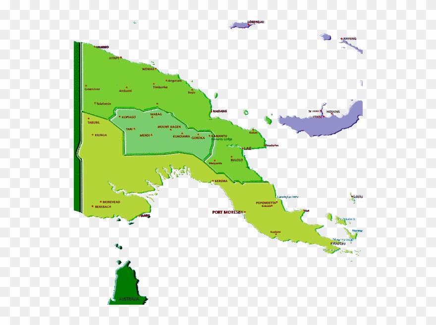Papua Nueva Guinea Mapa Hd Clipart (#1311199).