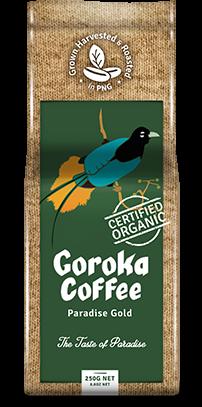 Goroka Coffee.
