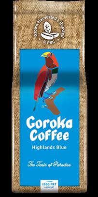Goroka Coffee Blends.