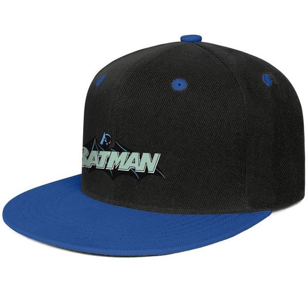 Compre Batman Hush Logo Clip Art Blue Para Hombres Y Mujeres Béisbol Gorra  De Ala Plana Diseñador De Diseño Personalizado Fresco Equipado Moderno De.