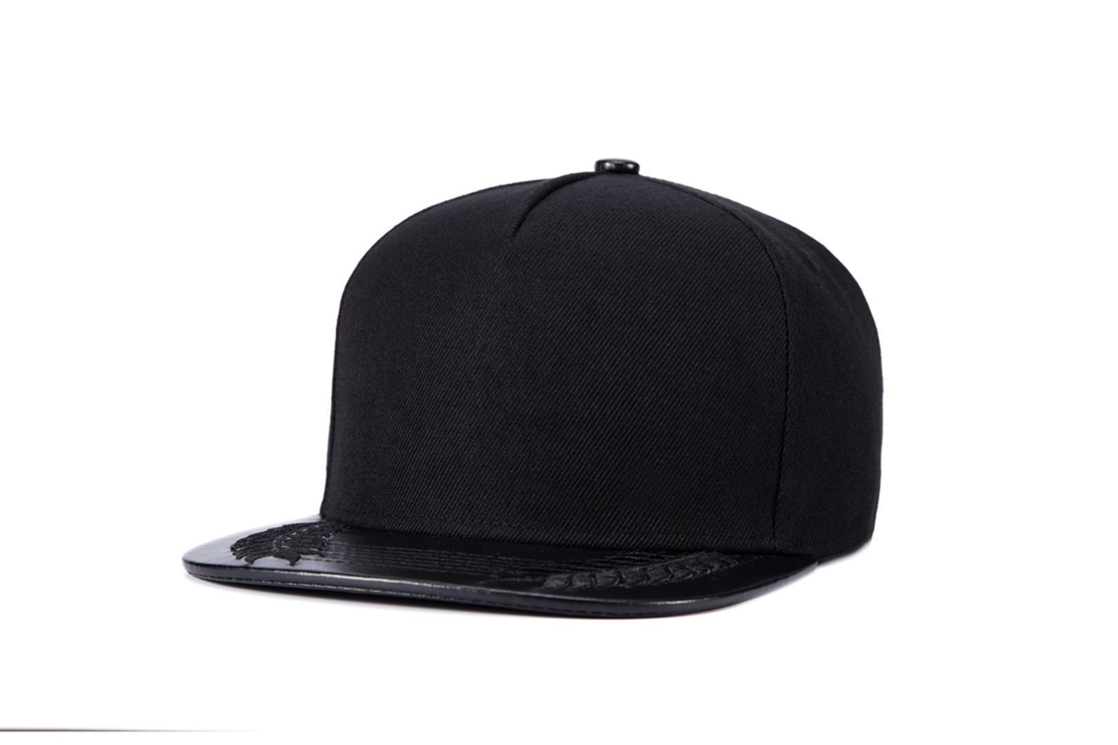 2018 Gorras Planas Hot style Flower Print flat top hat baseball cap Hip Hop  Cap hat for man Swag Mens Snapbacks Black.
