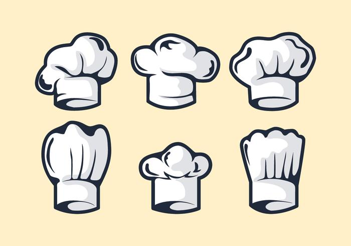 Chef Hat Vector.