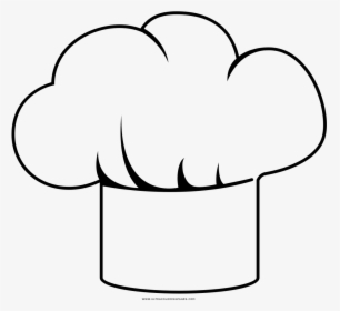 Clip Art Chef Hat Silhouette.