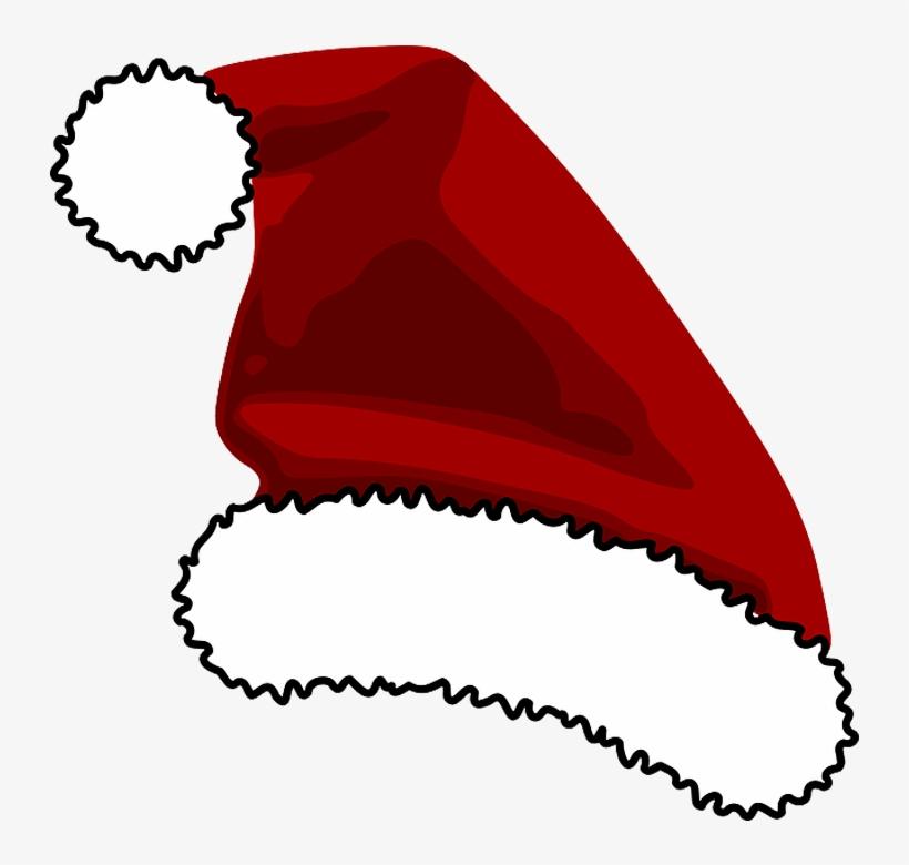 Gorrinho De Papai Noel Em Png.