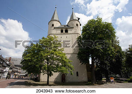 Stock Photo of Jacobite Church, Goslar, Germany 2043943.