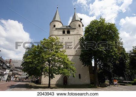 Stock Photo of Jacobite Church, Goslar, Germany 2043943.