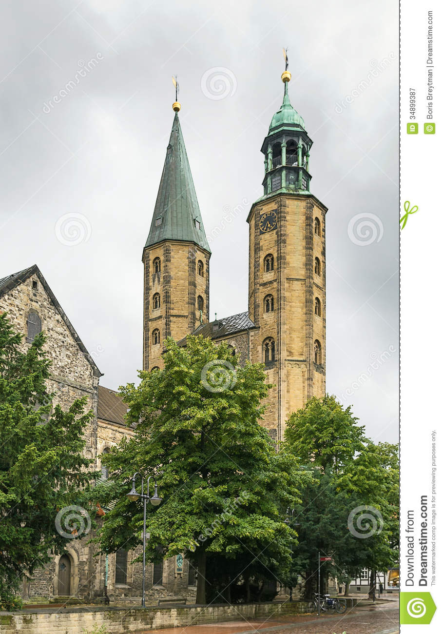 Market Church St. Cosmas And Damian, Goslar, Germany Royalty Free.