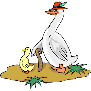 Goose Gosling clipart, cliparts of Goose Gosling free download.