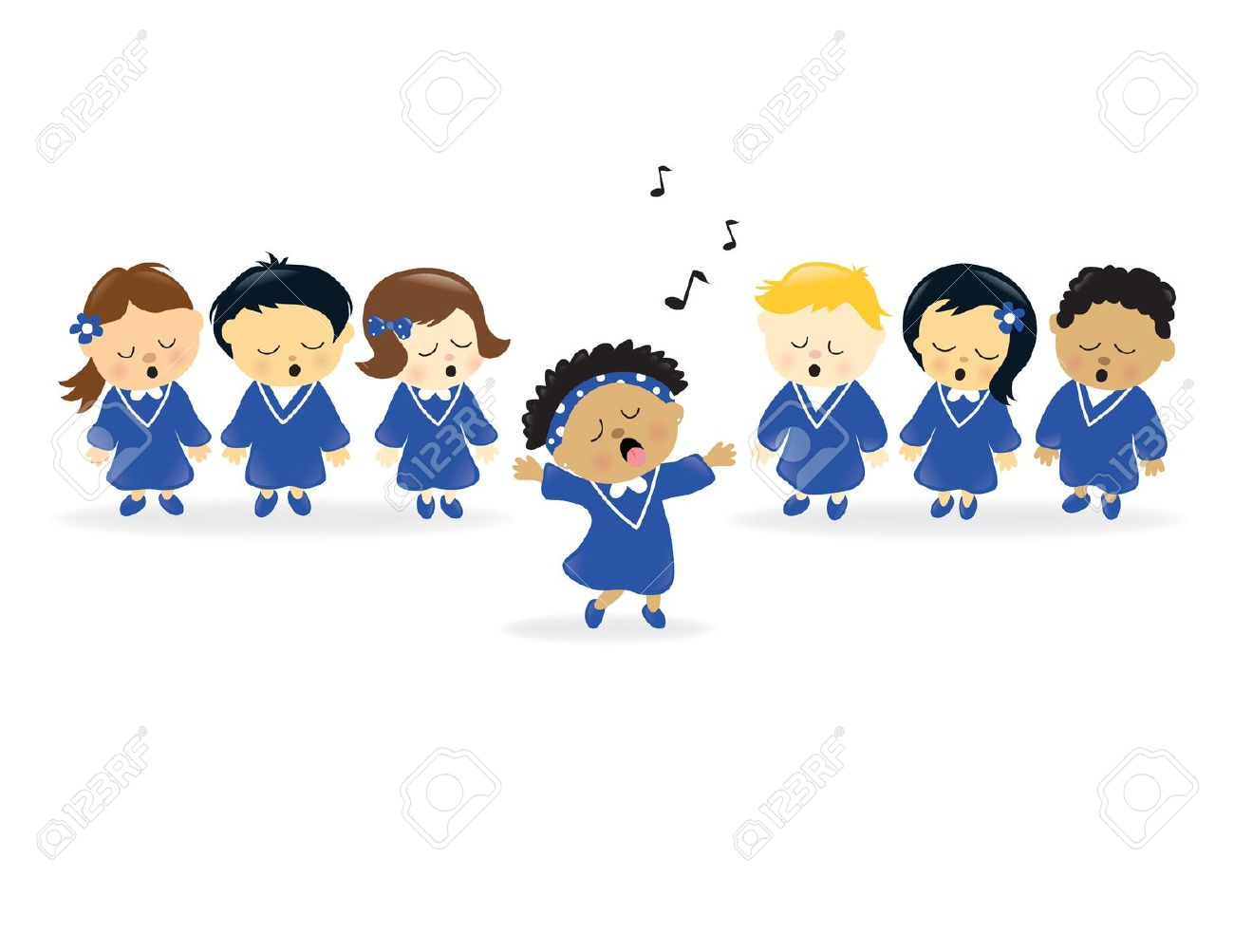 Gospel Choir Pictures Of Real People Clipart Free.