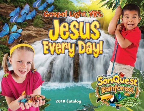 Gospel Light Vacation Bible School 2010 SonQuest Rainforest.