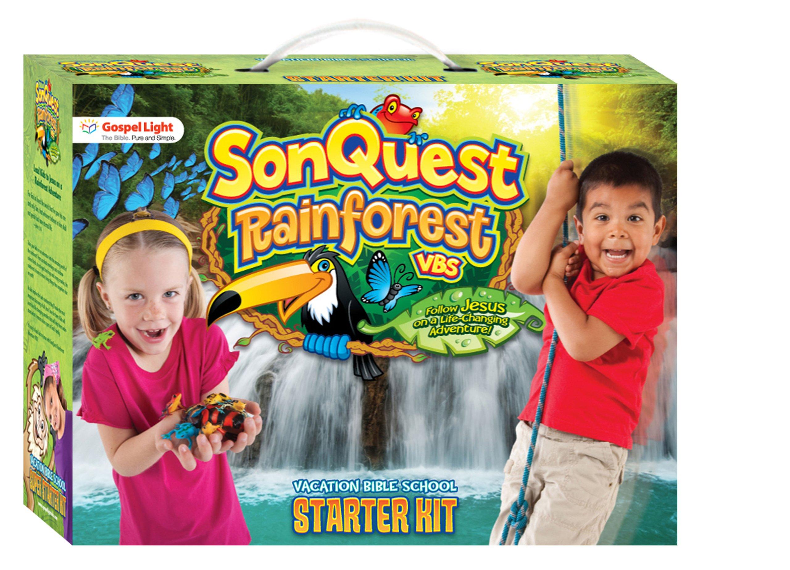 SonQuest Starter Kit BL (SonQuest Rainforest VBS): Gospel.