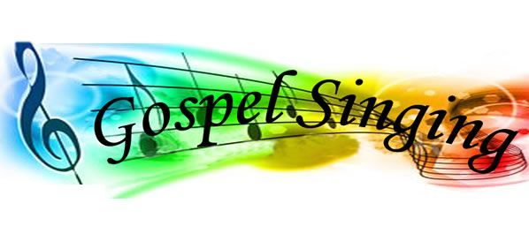 Gospel singing clipart.