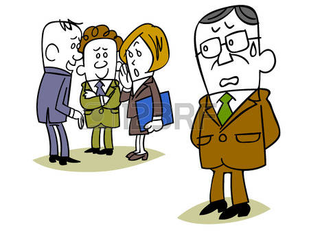 Office gossip clipart.