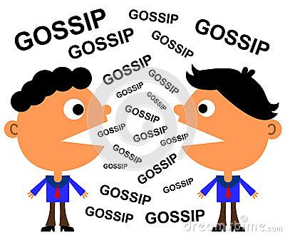 No Gossip Clipart.