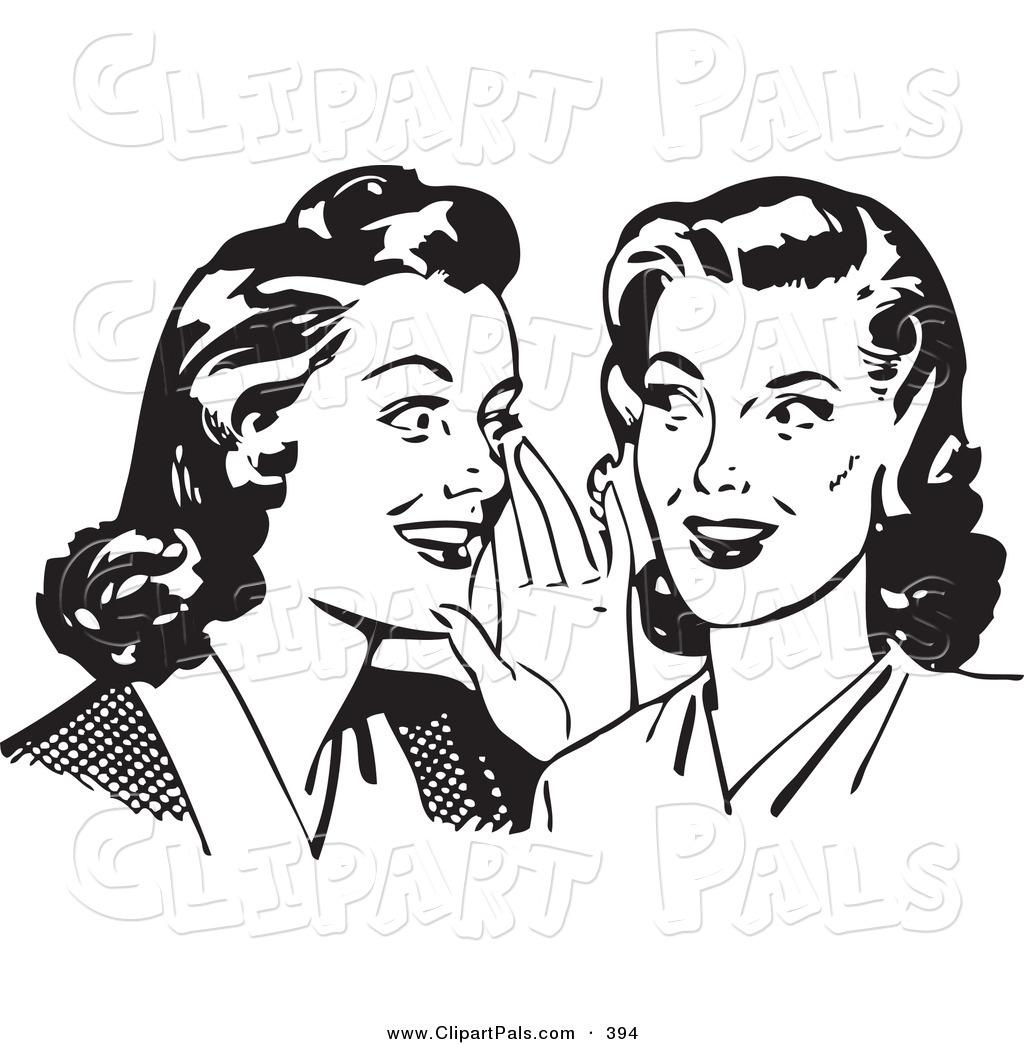 Gossip Clip Art.