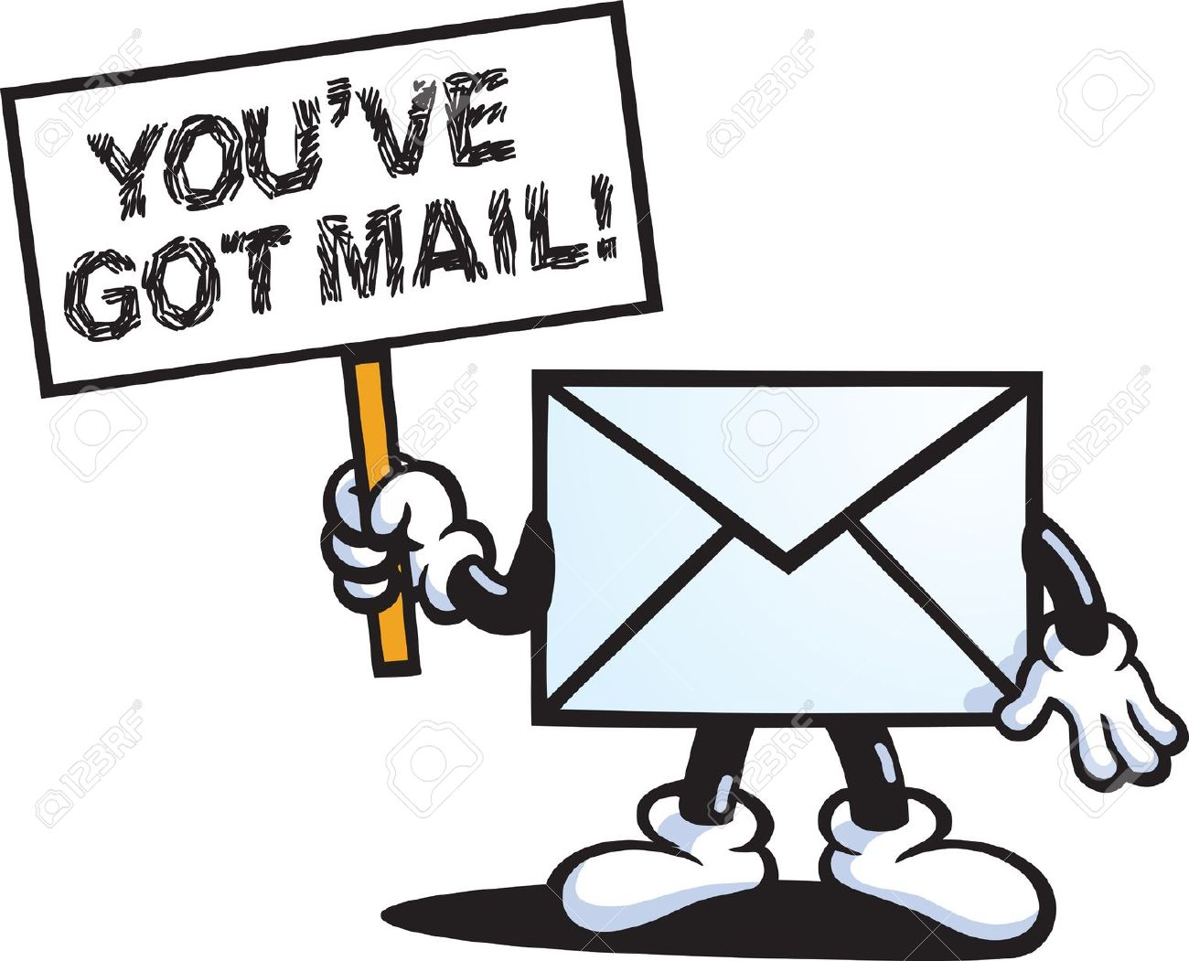 You Got Mail Clipart.