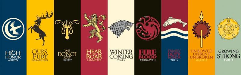 Logo Design a la Game of Thrones.