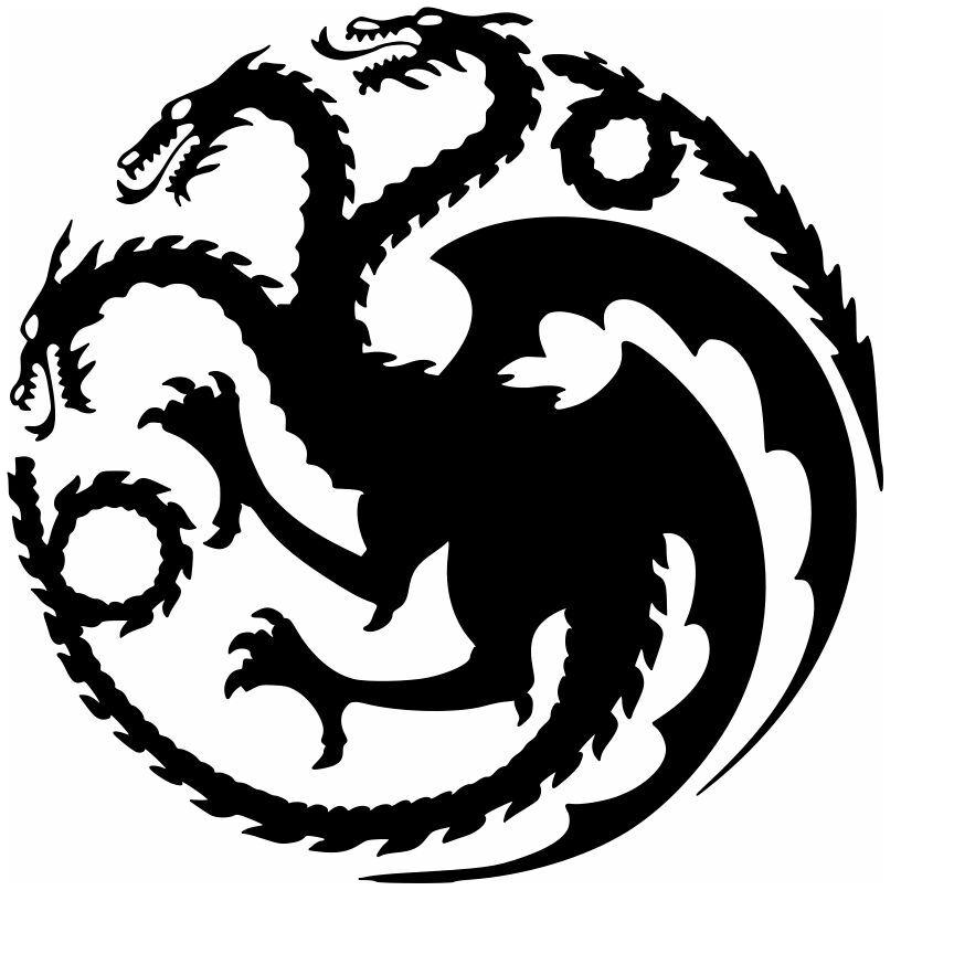 GOT dragon logo.