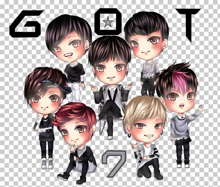 GOT7 0 Chibi Drawing Anime, POP ART PNG clipart.