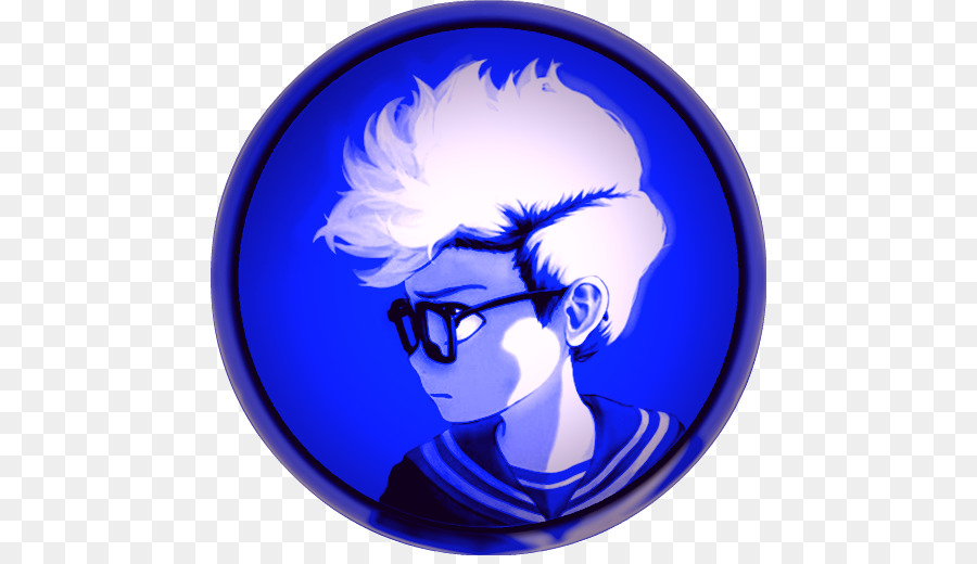Agario Blue png download.