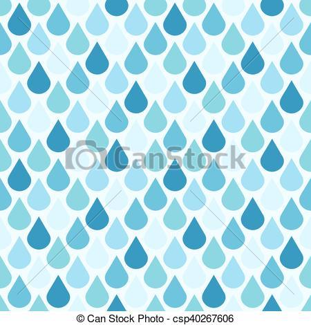 El agua del vector azul deja un patrón sin costura. la.