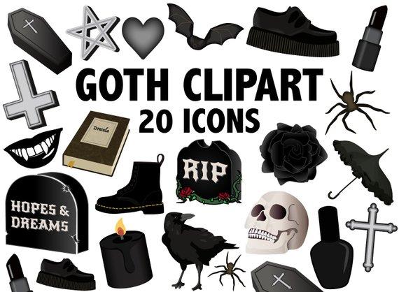 GOTH CLIPART.