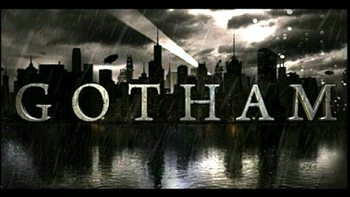 I like how the Gotham logo is placed in front of an image. I.