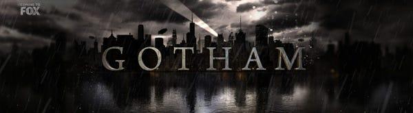 Gotham\' TV Series Details And Logo.