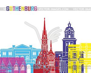 Gothenburg skyline pop.