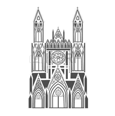1,593 Catholic Cathedral Cliparts, Stock Vector And Royalty Free.