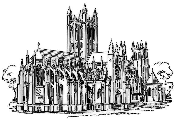 Gothic Church Clipart.