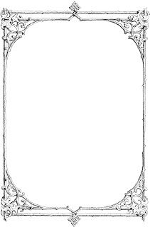 gothic page borders.