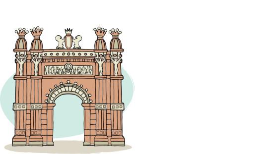 Gothic Quarter Clip Art, Vector Images & Illustrations.