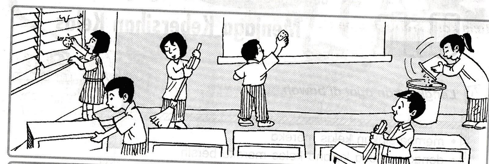 Gotong royong di sekolah clipart 4 » Clipart Portal.