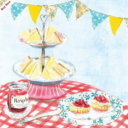 High Tea Clipart.