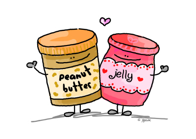 Gotta love the peanut butter!.