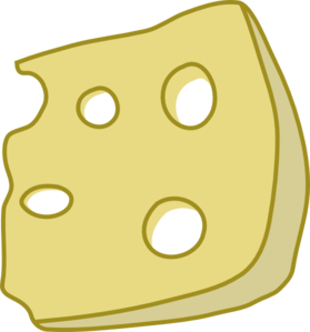Cheese Clip Art at Clker.com.