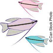 Gourami Vector Clip Art EPS Images. 8 Gourami clipart vector.