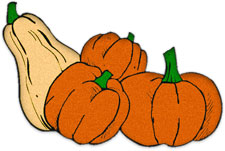 Thanksgiving Gourd Clipart.