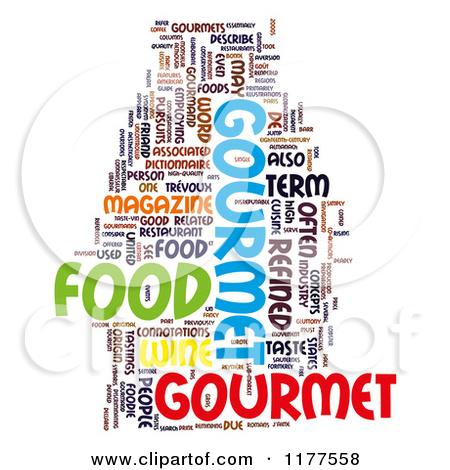 Gourmet Clipart.