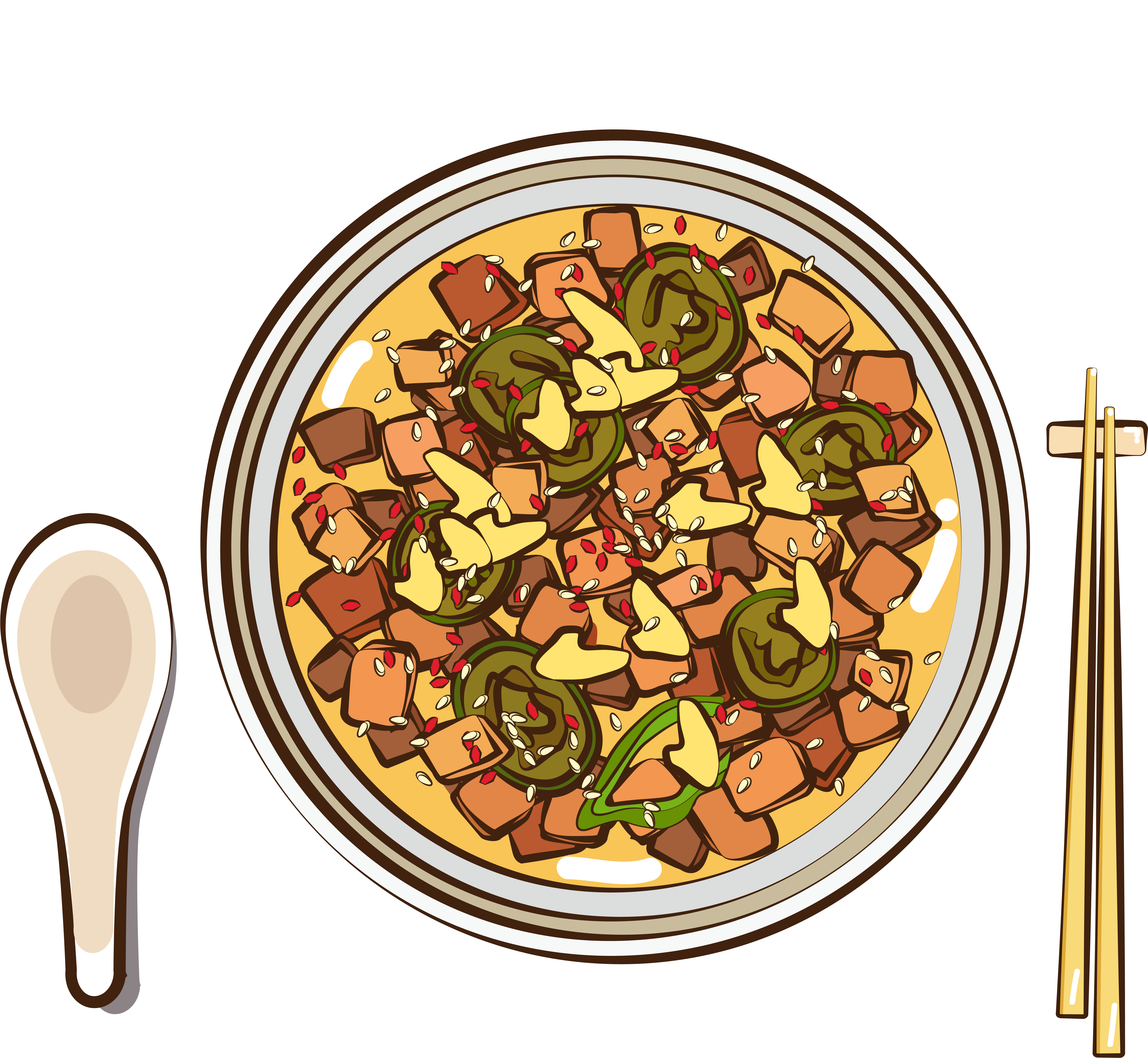 Meat Gourmet Food Boiled Pork Png And Vector.