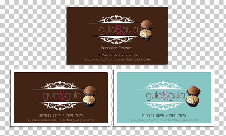 Brigadeiro Gourmet Business Cards Recipe Logo, gourmet logo.