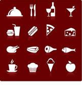 Gourmet Food Clip Art.