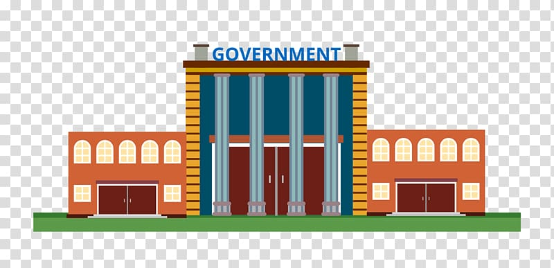 Government building illustration, White House Government.