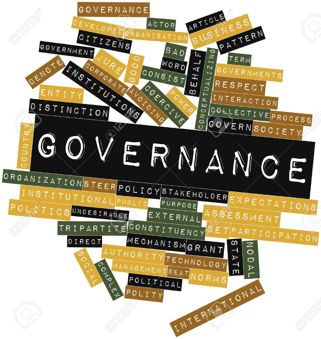 Governance clipart.