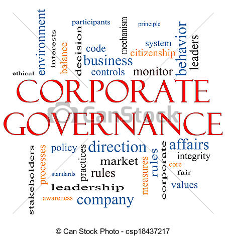 Corporate governance clipart.