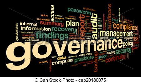 IT Governance Clip Art.