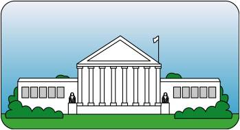 Government building clipart.